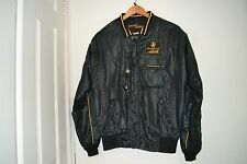 John Player Special JPS Sport Auto Black Jacket Piping Lotus Formula 1 Size M