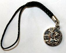 St Christopher patron saint of travellers - phone or bag charm