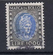 1982 DEA ROMA MARCA DA BOLLO TASSA FISSA 1000 LIRE USATA