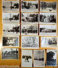 16 Postcards 15 rppc all from Francis Arnold OVERBROOK-FIELDS CORNISH COLONY NH
