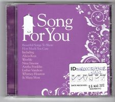 (GN57) A Song For You, 20 tracks various artists - 2012 CD