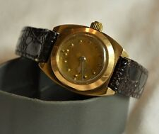 Solid 14kt Gold Automatic Braille Watch, Incredibly Rare Swiss Made, 25J, 2 adj.