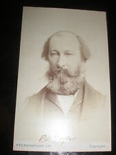 Cdv photograph Peter Alfred Taylor MP and radical London Stereoscopic c1870s