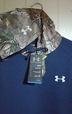Under Armour ColdGear Hunt Hoodie Realtree Camo Pullover: Medium (NWT)