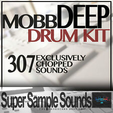 MOBB DEEP DRUM KIT IN VINILE Beats mpc60 SP1200 mv8800 MPC 2.500 5.000 1000 CAMPIONI