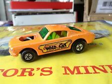 MATCHBOX LESNEY SUPERFAST 1970 MUSTANG WILDCAT DRAGSTER NO. 8 ~ missing engine