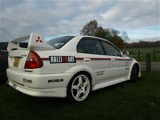 MITSUBISHI EVO RALLIART strisce Decalcomanie
