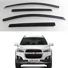 New Smoke Window Vent Visors Rain Guards for Chevrolet Captiva 2010 - 2012