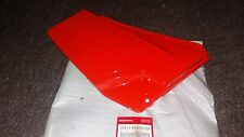 NOS HONDA XL 185 R 1990 - 98 RIGHT SIDE COVER 83610-KF9-000za FLASH RED XL185R