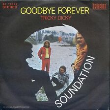 7inch SOUNDATION goodbye forever GERMAN EX+  +PS