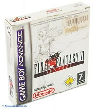 Gameboy Advance juego-Final Fantasy VI/6 Advance (inglés) (con embalaje original)