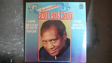 "The Glorious Voice Of PAUL ROBESON 12"" LP Vinyl Songs from 1931-39 - Near Mint"