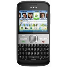Nokia E5 / Sim Free / Unlocked / 5.0 Megapixel Mobile Phone (Carbon Black)