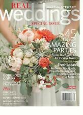 MARTHA STEWART, REAL WEDDINGS SPECIAL ISSUE,  FALL, 2013 ( 45 PAGES OF AMAZING