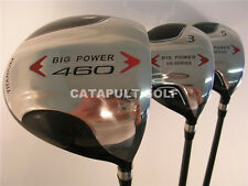"NEW +2"" XL TALL MENS DRIVER 3 5 WOOD SET RH GOLF CLUBS"
