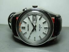 VINTAGE SEIKO BELLMATIC ALARM AUTOMATIC DAY DATE WRIST WATCH 503060 GENTS F831