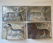2 MOULE METAL AGNEAU MOLD KAISER GERMANY
