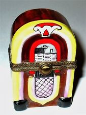 LIMOGES BOX - PARRY-VIEILLE - RETRO JUKEBOX & 'NEON' LIGHTS - MUSIC - 1950S