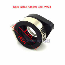 Carb Intake Adapter Boot Rubber Pipe Flange For Mikuni VM24 Keihin PE2 Pit Bike