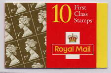 Gb 1997 10 x 1st classe royal golden wedding barcode brochure HD42 6mm band