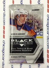 2013-14 Upper Deck Black Diamond Hockey HOBBY Pack 5-Card Double Rookie Class