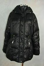 DKNY Women's Quilted Down-filled Side-tab coat   size XL   Pre-owned
