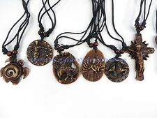 20 pieces hippie gothic rock punk pendant necklaces wholesale jewelry lot