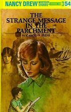 The Strange Message in the Parchment (Nancy Drew Mystery Stories, No 54), Caroly