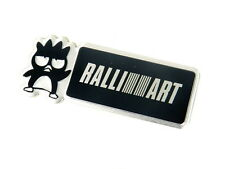 MITSUBISHI RALLIART BADTZ MARU EMBLEM BADGE DECAL RARE