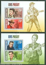 NIGER 2013 ELVIS PRESLEY  SET OF TWO SHEETS  NH