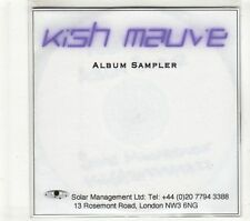 (GT651) Kish Mauve, Album Sampler - DJ CD