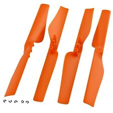 4 GENUINE POWER EDITION ORANGE PROPELLER Motor Rotor - Parrot AR.Drone 2.0