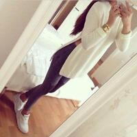 Sexy Women Jumpers Cardigans Ladies Long Sleeve Sweater Long Tops UK New Fashion