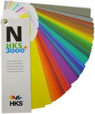 HKS Color Fan 3000+ Uncoated (N), shows 3,520 colours. Brand new latest version.