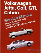1993-2002 2001 VW Cabrio Golf Jetta GTI Shop Service Repair Manual