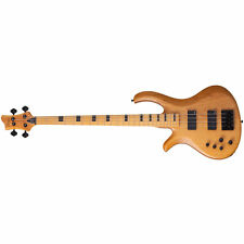 Schecter Riot Session-4 Aged Natural Satin ANS LH Left Handed Bass B-Stock