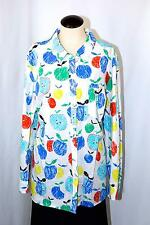 Talbots Women Button Blouse Tops Shirts APPLES NEW NWT 3X $79