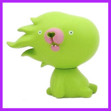 KUMANO GOLLO BEAR GREEN VINYL ART TOY FIGURE BY Akiyoshi Chino RARE! Dunny