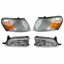 1993 - 1997 TOYOTA COROLLA HEADLIGHT LAMP & CORNER LAMP LIGHT LEFT & RIGHT