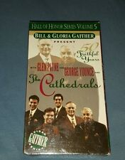 BILL & GLORIA GAITHER PRESENT : THE CATHEDRALS 50 FAITHFUL YEARS [NEW VHS]