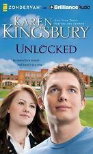 UNLOCKED unabridged audio book on CD by KAREN KINGSBURY