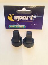 SCALEXTRIC C3300 C3401 Tyres x4 W9026 front and rears New