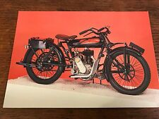 Vintage 1924 600cc Beardmore Precision National Motorcycle Museum Postcard (C)