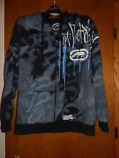 """Rare Marc Ecko Unlimited """"These Colors Don't Run"""" Graffiti Hoodie Men's X-Large"""