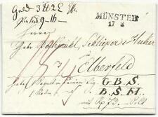 Preussen-Vorphilatelie: Paketbegleitbrief mit zwei versch. Inhalten von 1830!
