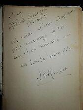 Je suis Contre  de Jean-Claude Roulet /Autographe Michou ou Afred Georges Michel