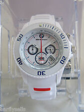 ICE-WATCH BMW MOTORSPORT EDITION BM.CH.WE.B.S.13 BIG WHITE CHRONOGRAPH GENUINE