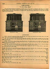 1940 AD J&S Better Made Zenith Mascot Steel Range Stove Oven Coal Wood Burning