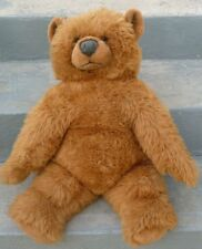 "Big Plush Classic TEDDY BEAR stuffed toy28"" 1983 AVANTI Jockline Applause Italy"