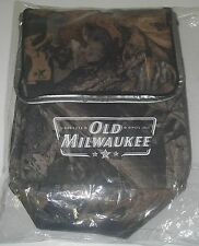 Distillery Old Milwaukee Insulated Thermal Cooler Sportsman Camouflage Lunch Bag